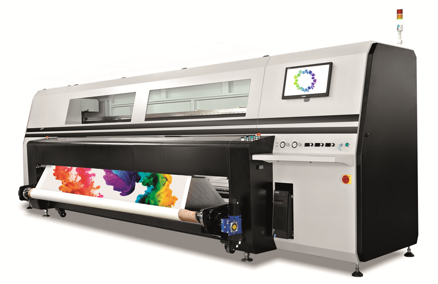 Star's New High-Speed Panthera S4-3.2m Dye Sublimation Printer