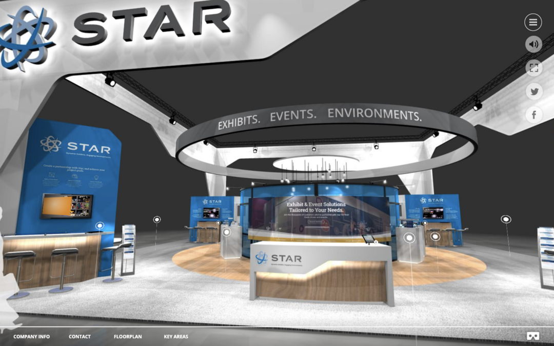 Star Launches Virtual Exhibit, Events, and Environment Services